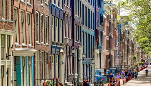 Stadtteil Jordaan von Amsterdam
