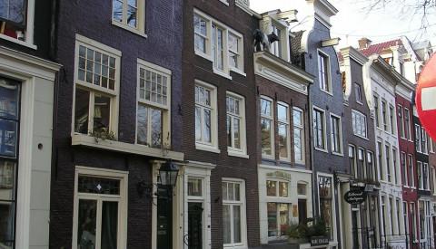 Das Anne-Frank-Museum in Amsterdam.
