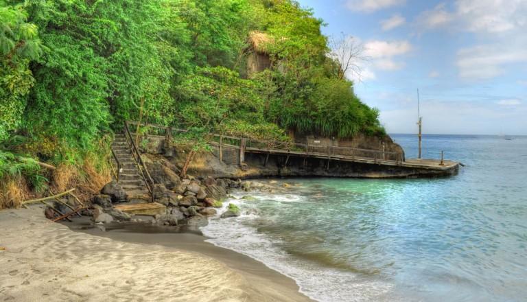 Der Anse Chastanet Beach St. Lucia