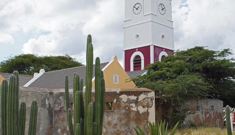 Das Fort Zoutman bei Oranjestad beherbergt das Historische Museum Arubas.