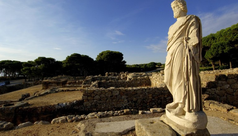 Asklepios Skulptur