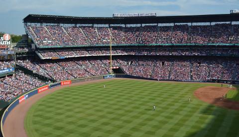 Das Baseballstadion der Atlanta Braves.