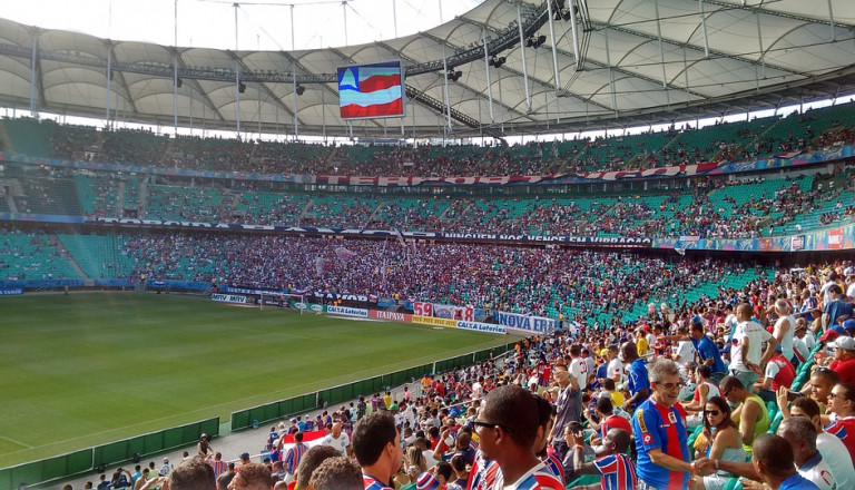 Der EC Bahia ist der Fußballclub von Salvador.