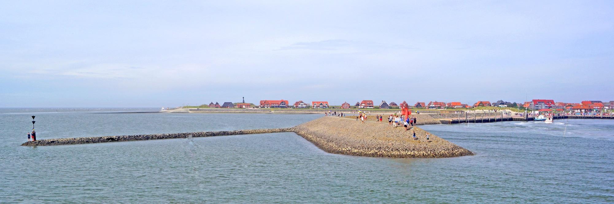Baltrum Panorama Inselorte