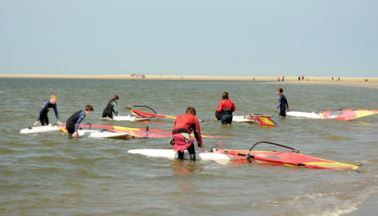 Baltrum Surfen