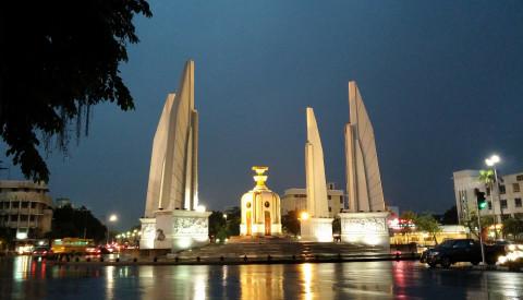 Ein weiteres Wahrzeichen Bangkoks ist das Democracy.