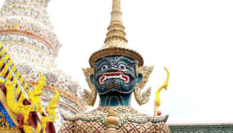 Der Smaragd Buddha von Bangkok