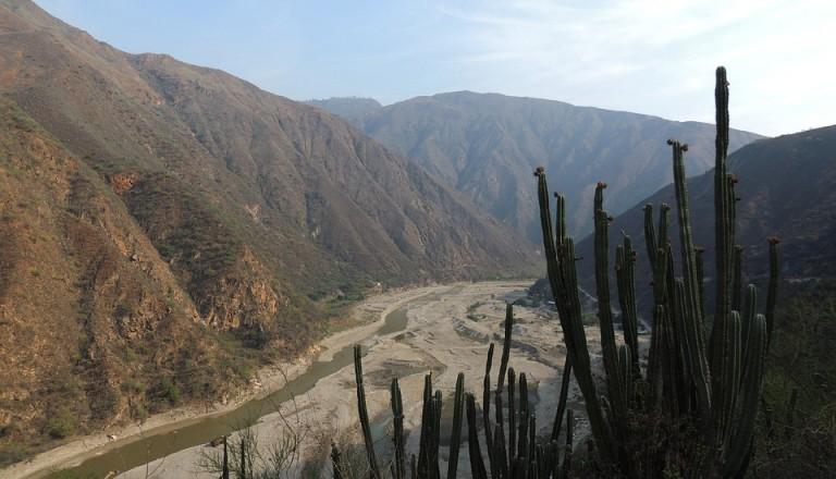Bei Chicamocha finden Sie das Dorf Barichara.