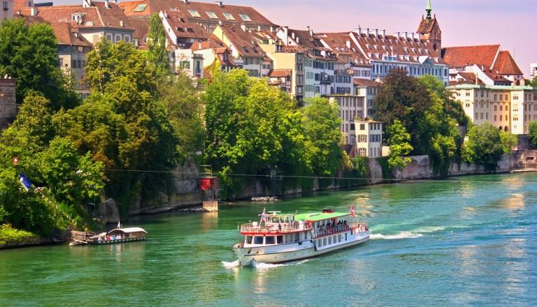 Basel Kreuzfahrt Rhein