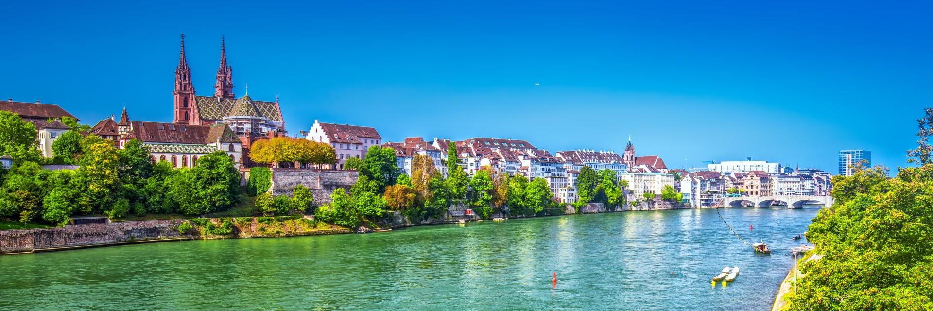Basel Schweiz Stadtansicht Reisen