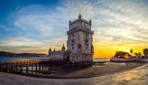 Der Torre de Belém ist das Wahrzeichen Lissabons.