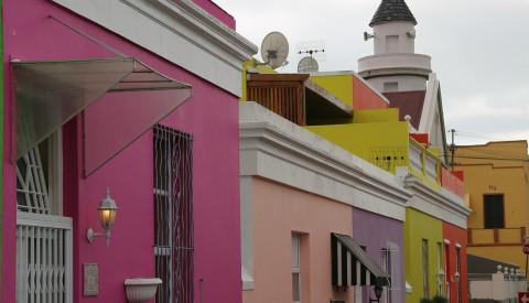 Der Stadtteil Bo Kaap von Kapstadt
