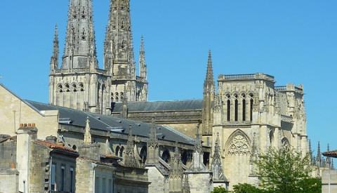 Die Kathedrale von Bordeaux.