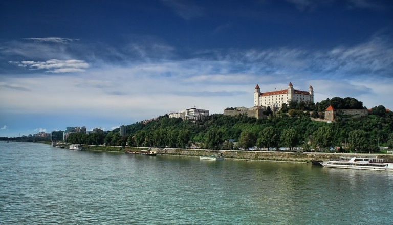 Donau Kreuzfahrt Bratislava