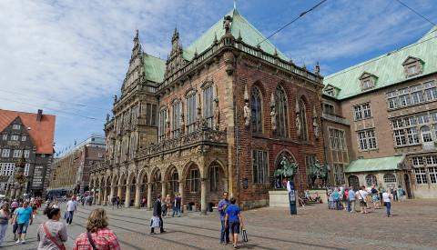 Das Bremer Rathaus gehört zum Welkulturerbe.