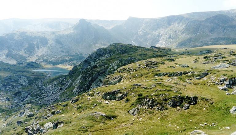 bulgarien rila gebirge berg