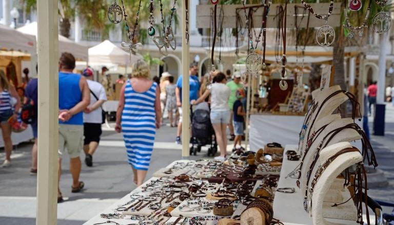 Shoppingvergnügen auf andalusischen Märkten.
