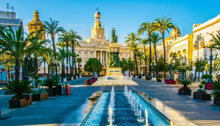 Sehenswürdigkeiten in Cadiz.