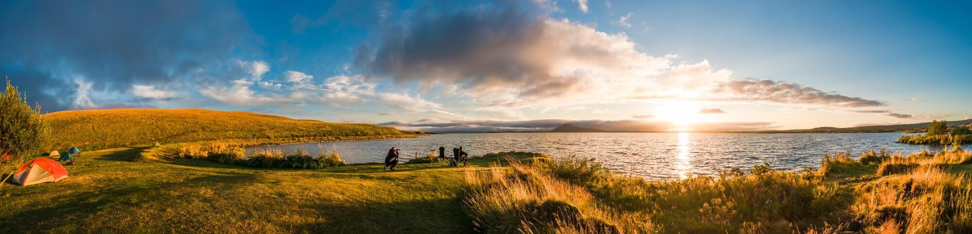 Camping Island Panorama