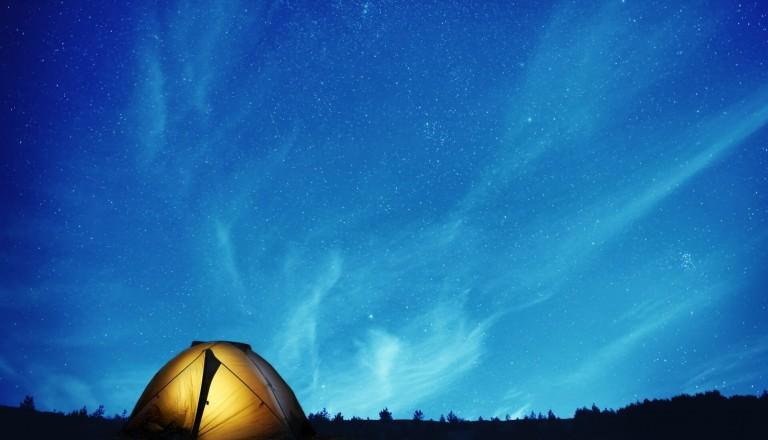 Camping Nacht Wildcampen