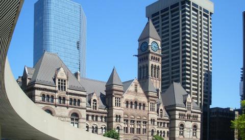 Das urbane Zentrum Old Toronto.