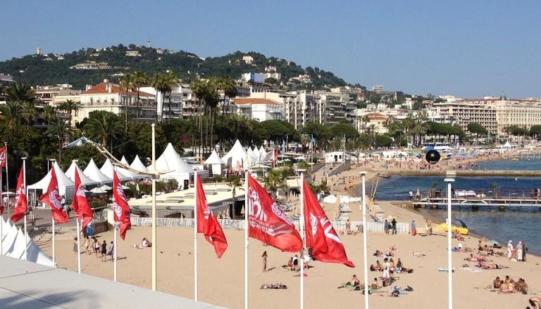 Cannes während der Filmfestspiele.
