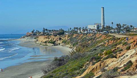 Der Loma Lighthouse am Cabrillo National Monument von San Diego