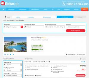 Screenshot Chalkidiki Deal Chrousso Village