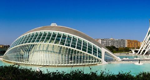 Ciudad de las Artes y las Ciencias in Valencia