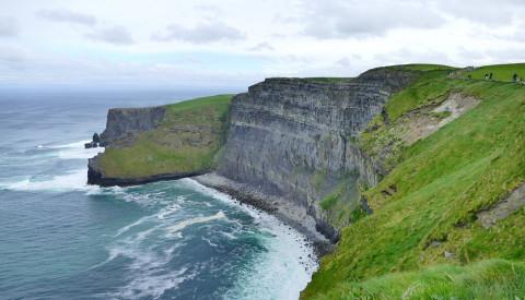 Die Cliffs of Mother in Irland