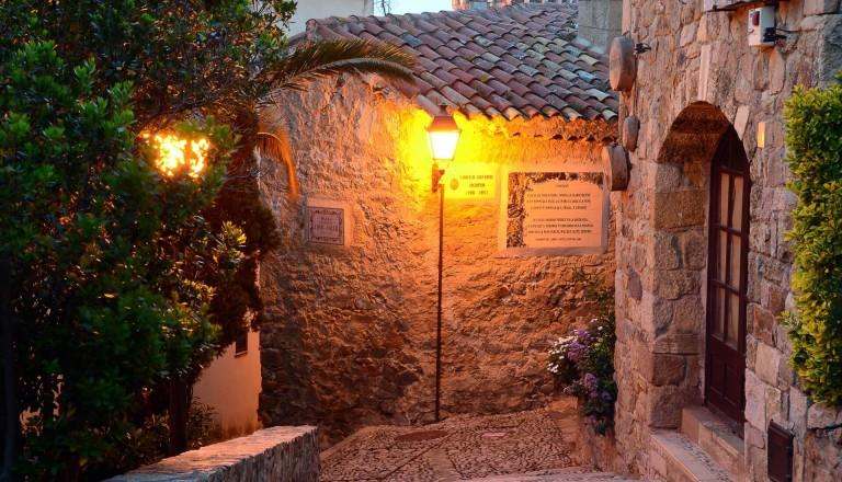 Vila Vella in Tossa de Mar
