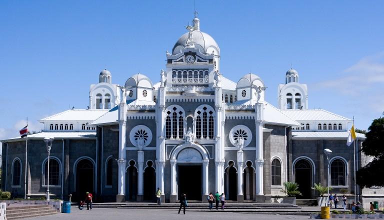 Die Basilica de Nuestra Señora de los Ángeles in Cartago. Costa Rica.