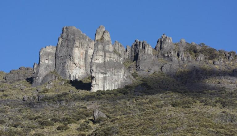 Der Chirripo Nationalpark beherbergt der Cerro Chirripo. Costa Rica.