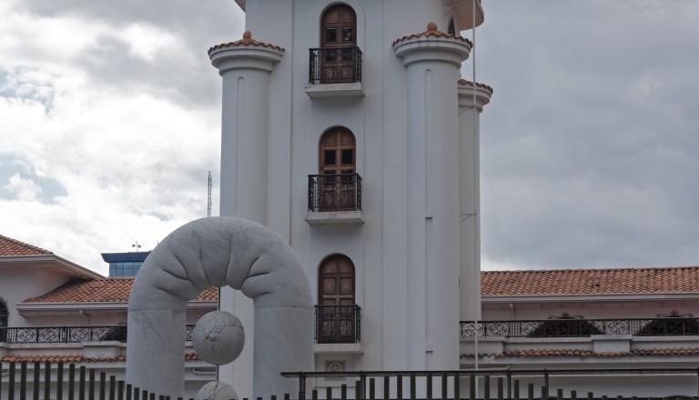 Das Kunstmuseum in der Haupstadt San Jose von Costa Rica.