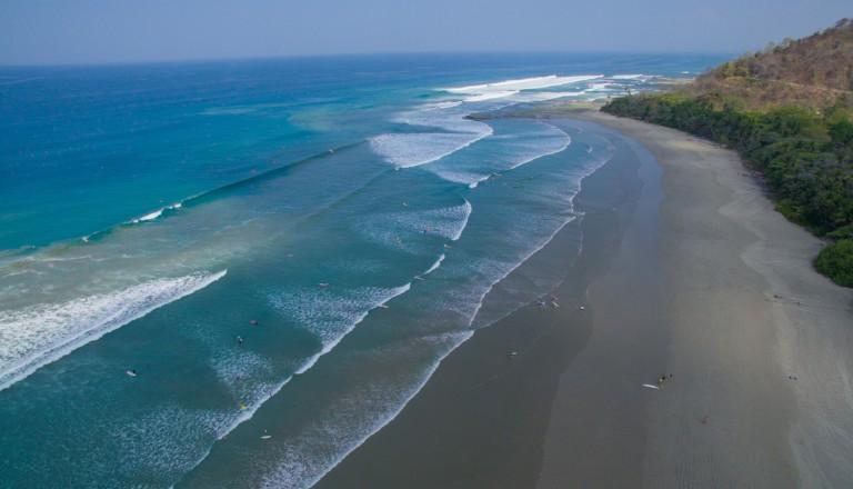 Santa Teresea auf Costa Rica. Reisen.