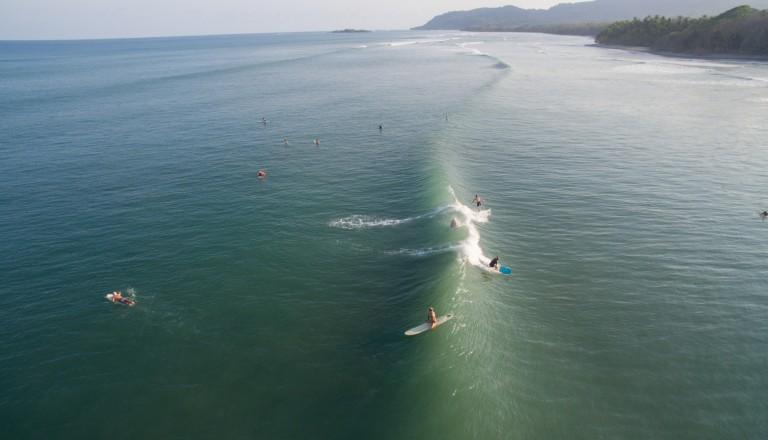 Der Playa Jacó gehört zu den beliebtesten Surfspots in Costa Rica.