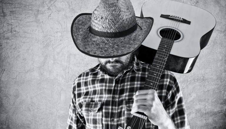 Cowboy Westerngitarre