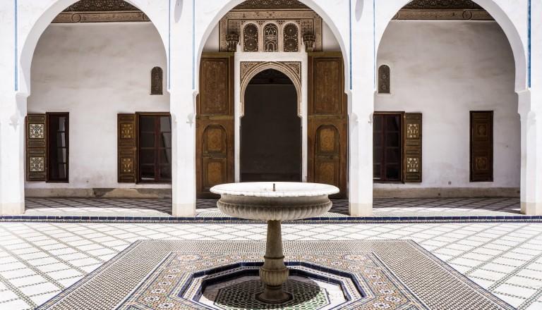 Das Dar Si Said Museum in Marrakesch