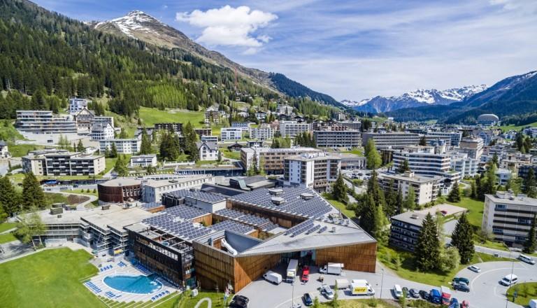 Das Kongresszentrum in Davos.