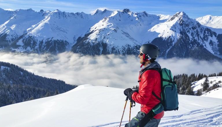 Skireisen nach Davos. Skiurlaub.