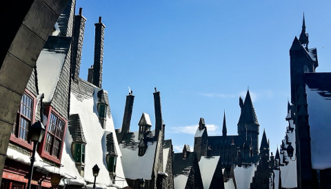Universal Studios in Los Angeles Hogwarts