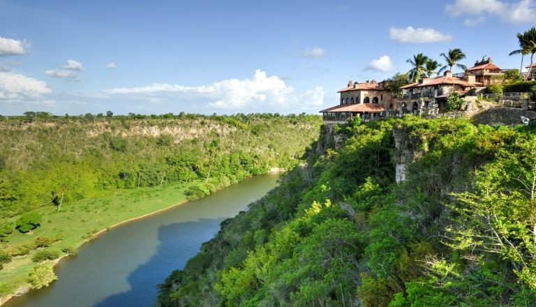 Der Chavon River im Nationalpark del Este. Punta Cana DomRep