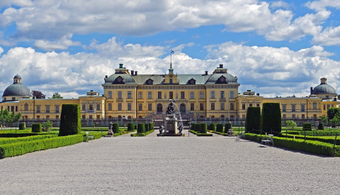 Das Schloss Drottningholm gehört zu den UNESCO-Weltkulturerben.