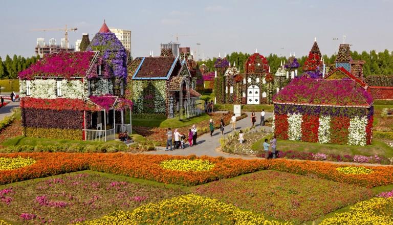 Der Miracle Garden in Dubai. Städtereisen
