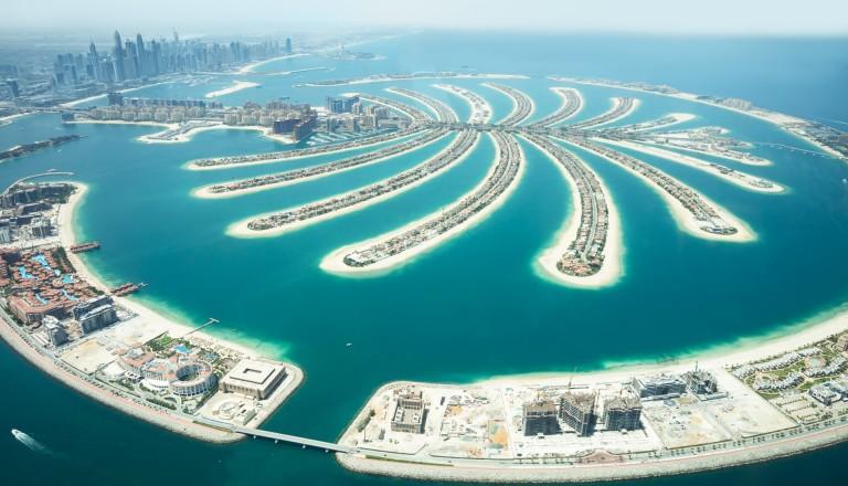 Palm Islands Dubai.