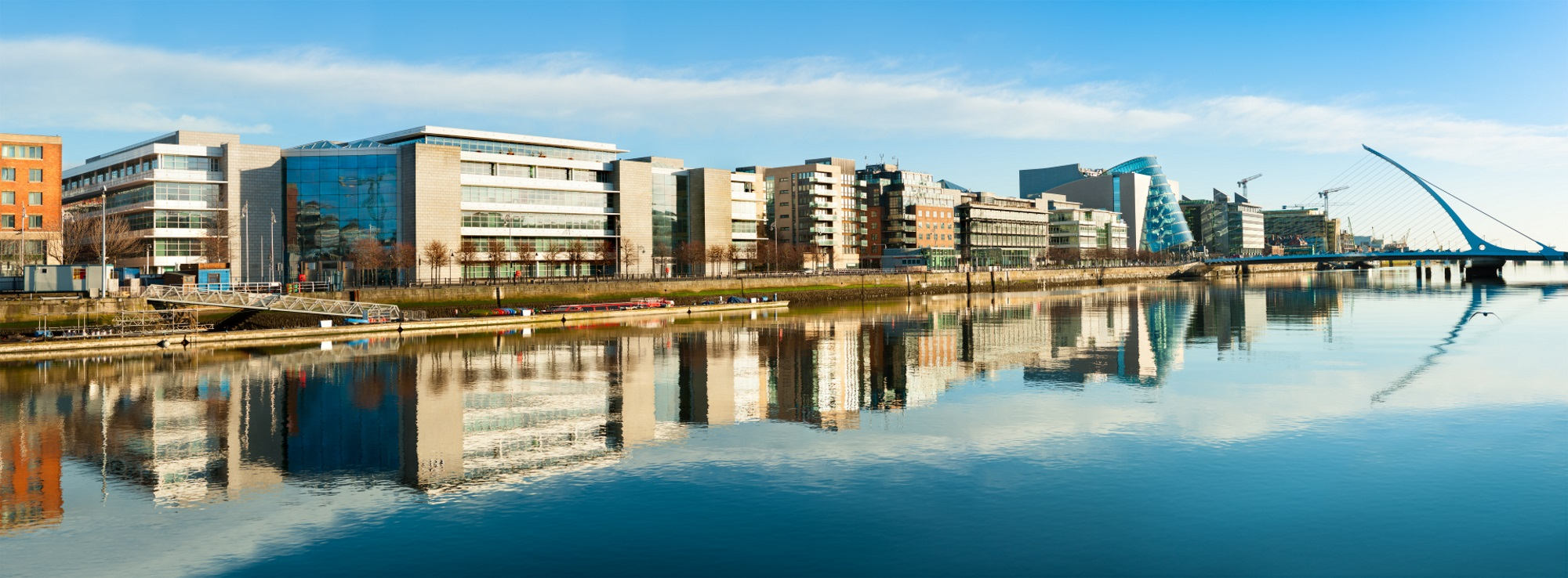 Dublin River Panorama