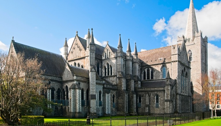 Die St. Patrick Cathedral in Dublin.
