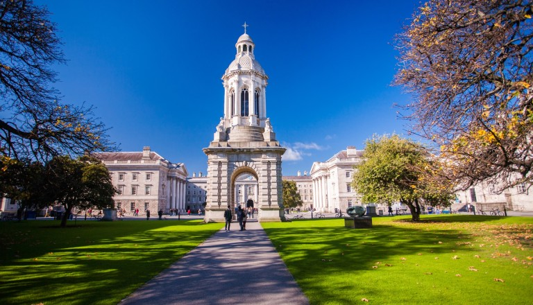 Das Trinity College in Dublin.
