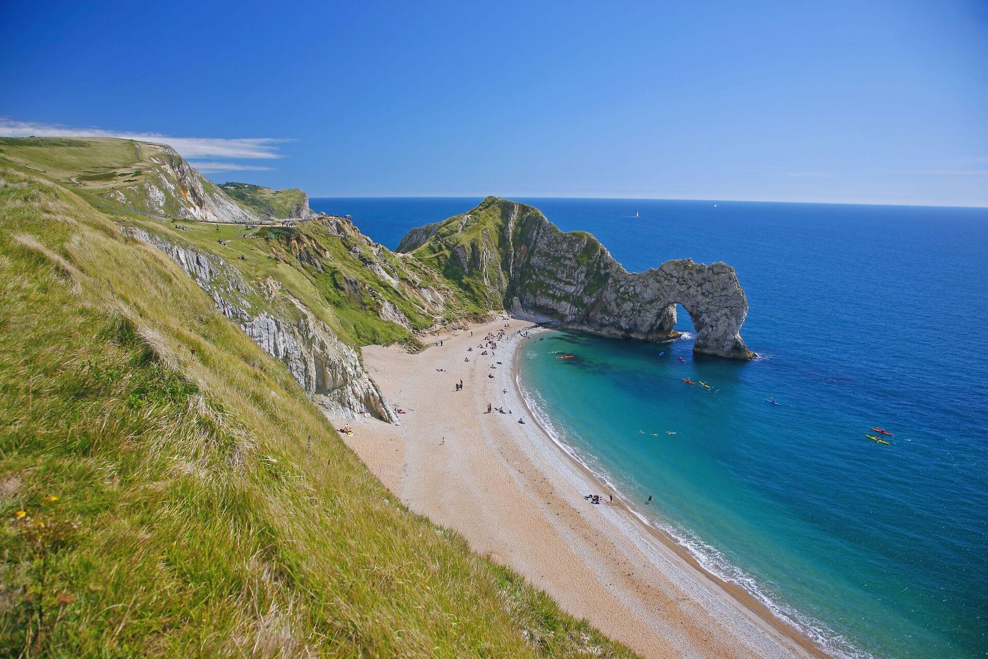 Durdle Door Beach England