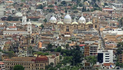 Quenca ist die drittgrößte Stadt des Landes.